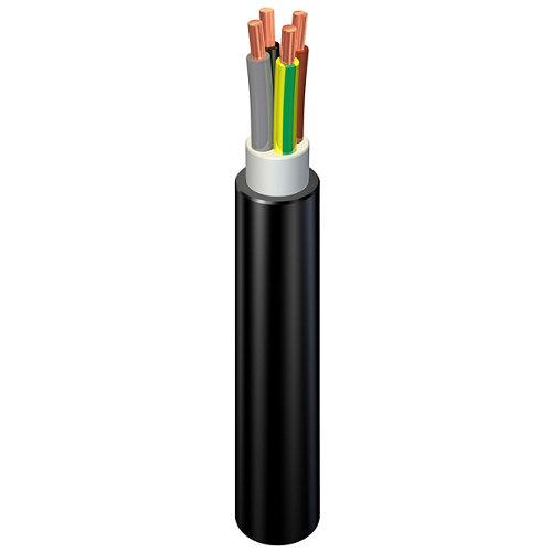 Cable eléctrico rvk 4 hilos de 1.5 mm2, 100 metros, negro