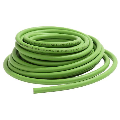 Cable eléctrico al corte rz1-k 1g6mm² mín 30m - máx 150m