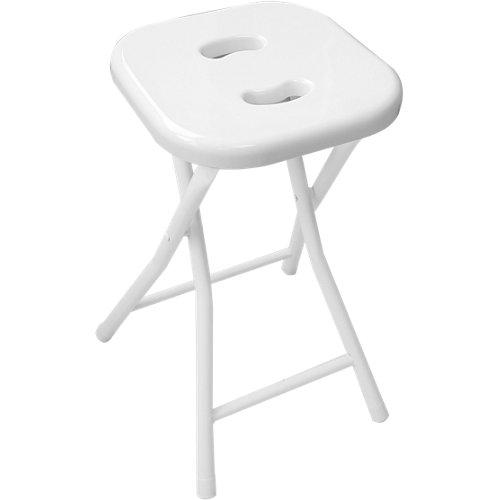 Taburete baño levante blanco 26x46.5 cm