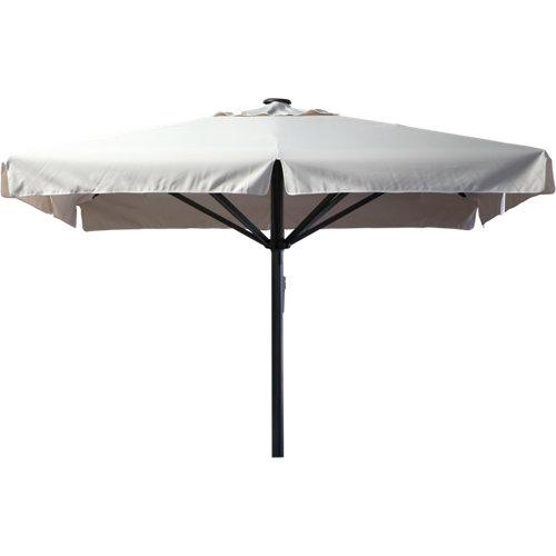 Comprar Parasol de aluminio cuadrado premium 300x300 cm