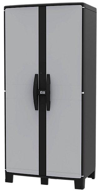 Armario resina alto COOL XL GRIS 180X85X52CM · LEROY MERLIN