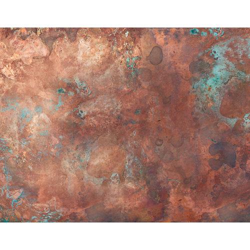 Mural decorativo autoadhesivo volcán marrón 321x250 cm