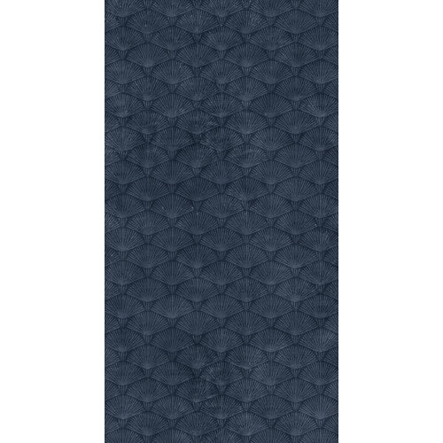 Mural decorativo autoadhesivo urban palms azul 132x250 cm