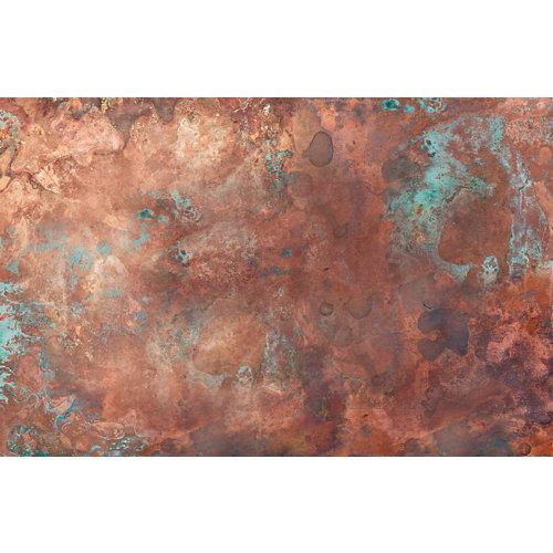 Mural decorativo autoadhesivo volcán marrón 385x250 cm