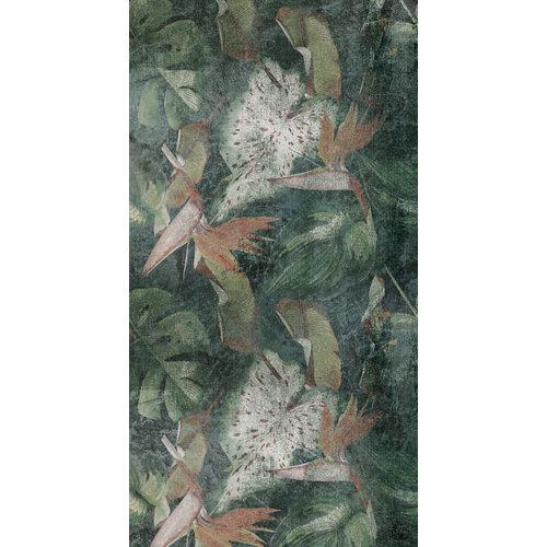 Vinilo mural autoadhesivo selva tropical 132x250 cm