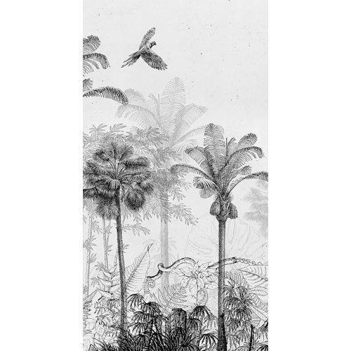 Vinilo mural autoadhesivo jungla 132x250 cm