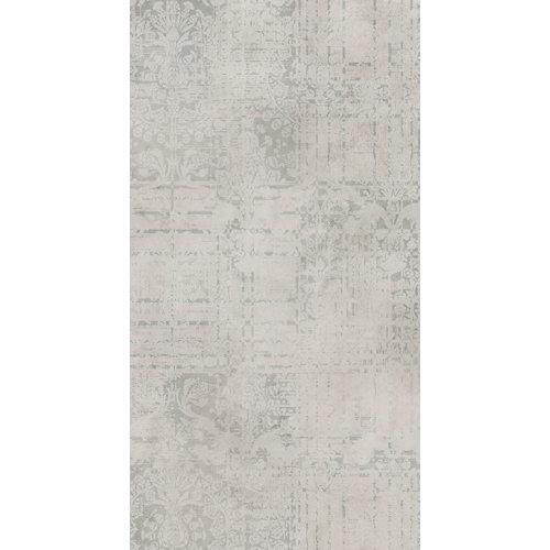 Mural decorativo autoadhesivo ornamento gris 132x250 cm