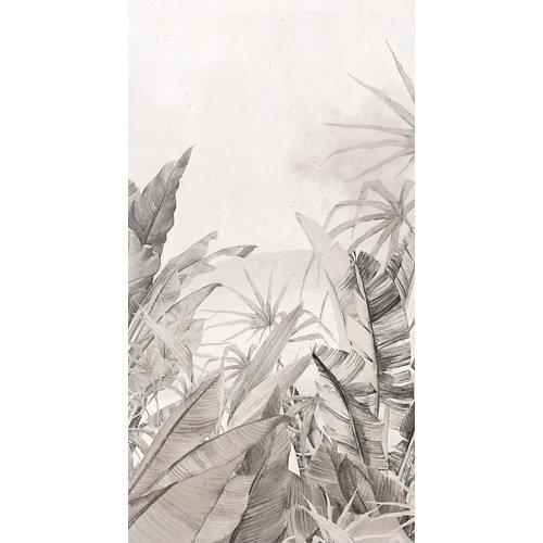 Mural decorativo autoadhesivo jungla colonial 132x250 cm
