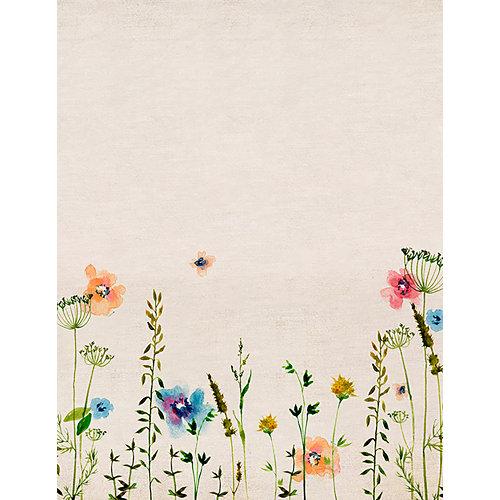 Mural decorativo autoadhesivo primavera beige 193x250 cm