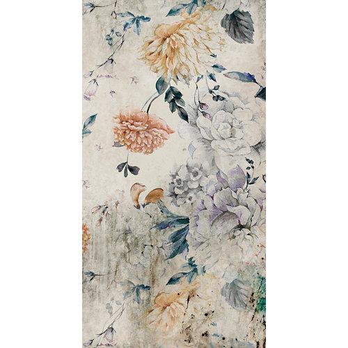 Mural decorativo autoadhesivo floral blossom 132x250 cm