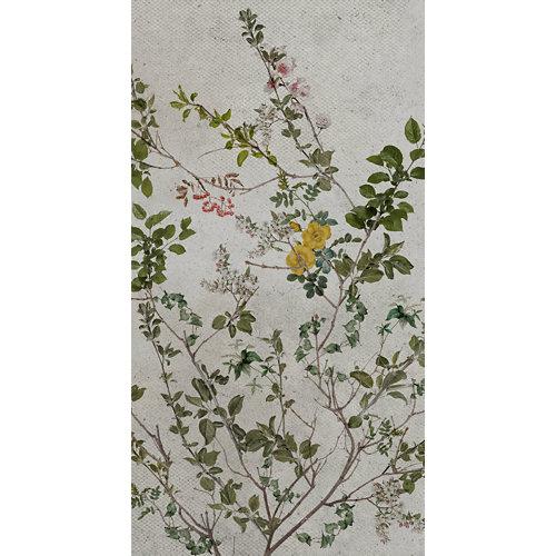 Mural decorativo autoadhesivo botánico 132x250 cm