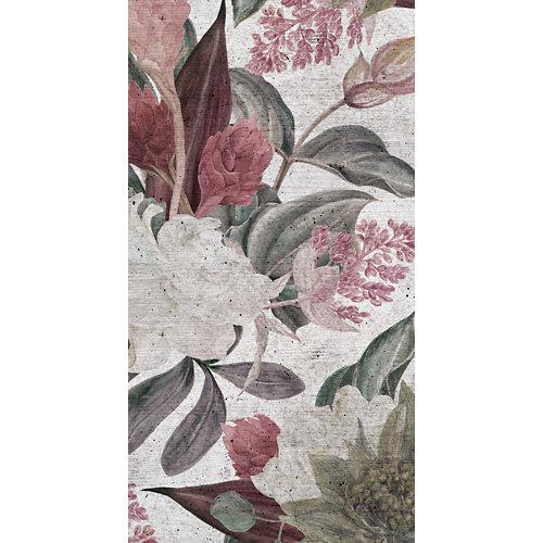 Mural decorativo autoadhesivo floral wall 132x260 cm