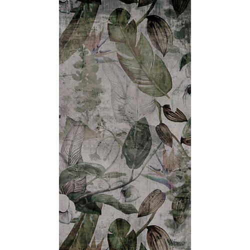 Mural decorativo autoadhesivo green spring 132x250 cm