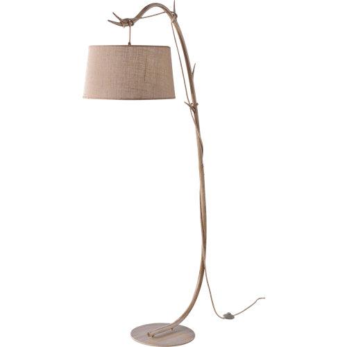 Lámpara de pie mantra sabina 1 luz beige