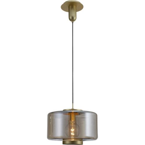 Lámpara de techo jarras plateada 1 luz
