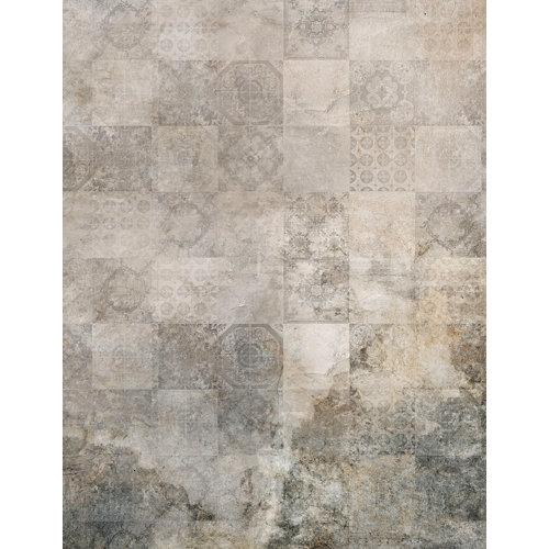 Mural decorativo autoadhesivo old tiles 193x250 cm