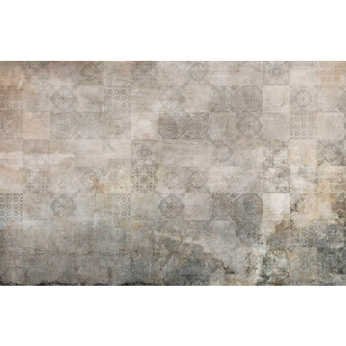 Mural decorativo autoadhesivo old tiles 385x250 cm