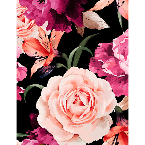 Mural decorativo autoadhesivo blossom 193x250 cm