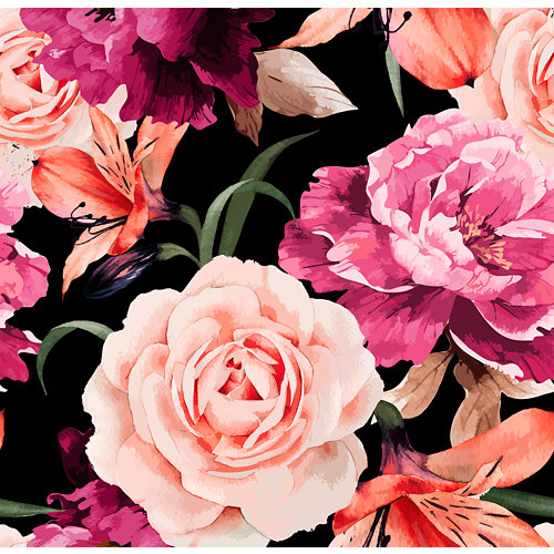 Mural decorativo autoadhesivo blossom 257x250 cm