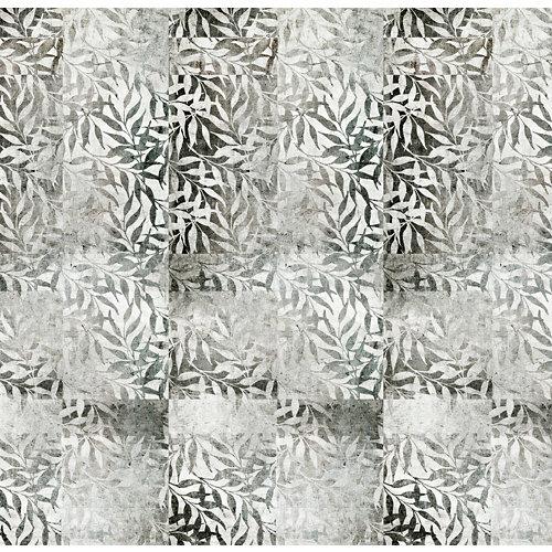 Mural decorativo autoadhesivo hojas bambú 257x250 cm