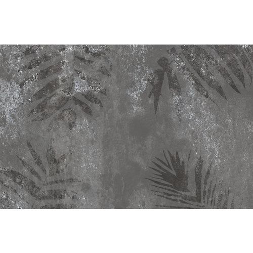 Mural decorativo autoadhesivo metal leaves 385x250 cm