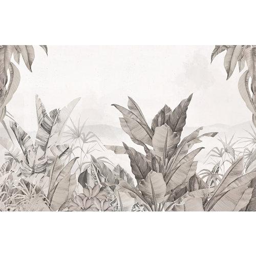 Mural autoadhesivo jungla colonial beige 385x250 cm