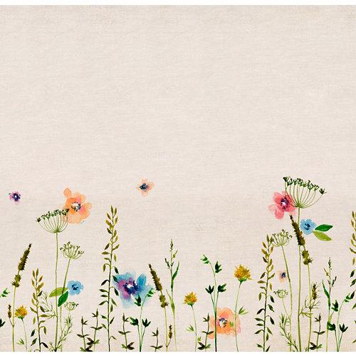 Mural autoadhesivo primavera beige 257x250 cm