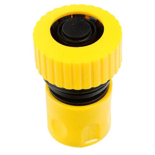 Conector rápido final de manguera de plástico 19 mm