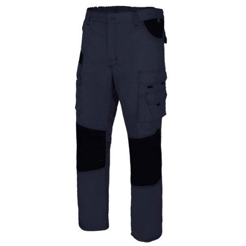 Pantalón de trabajo velilla azul t xl