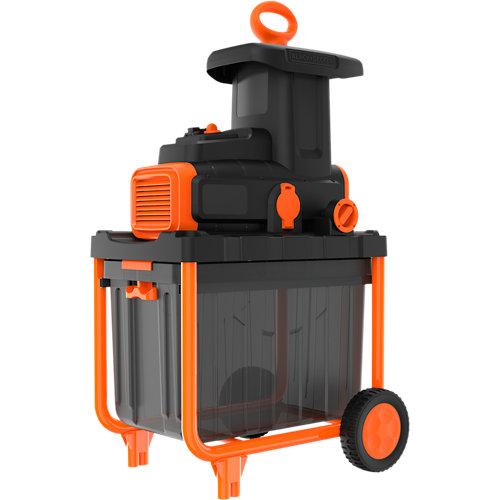 Biotriturador eléctrico b+d begas5800-qs 2800w 45 mm diámetro de corte