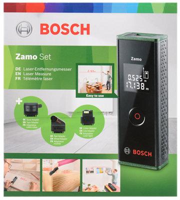 Kit De Medidor Laser Bosch Con Accesorios Leroy Merlin