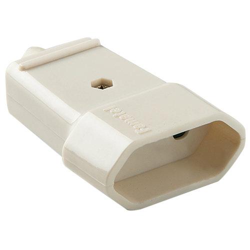 Base de enchufe famatel 10a blanca