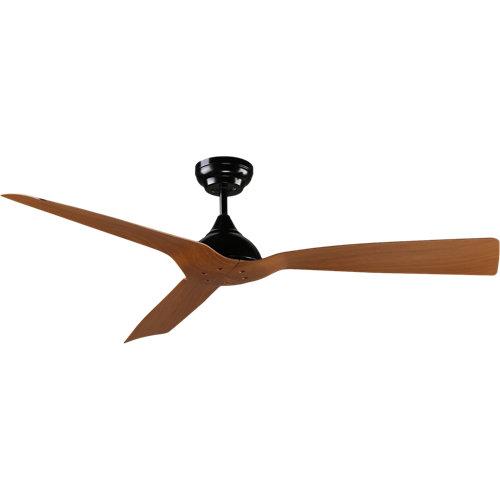 Ventilador de techo arte confort areia 132 cm negro dc
