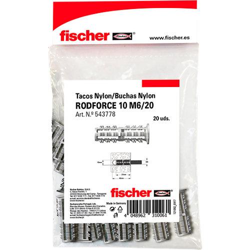 tacos para material hueco de nailon de 35 mm y 10 mm de ø