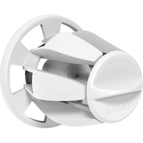 Portarollo wc hidden blanco brillante 5,7x5,7x6 cm