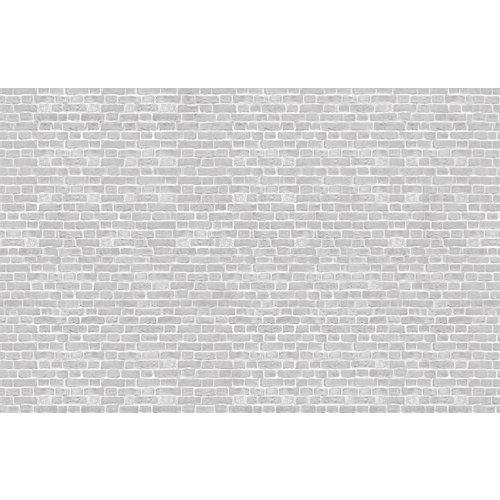 Papel pintado autoadhesivo grey brick 385x250 cm
