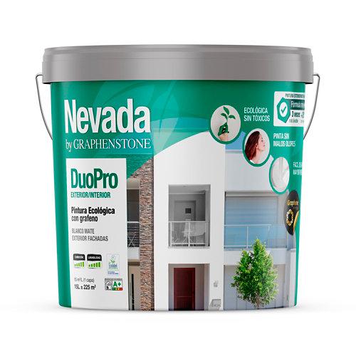 Pintura fachada ecológica graphenstone nevada duo 15l blanco