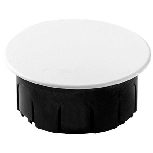 Caja empotrar con tapa redonda famatel 80x80x40 mm