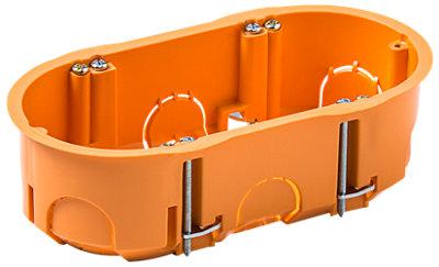 Caja 2 Mecanismos Pladur Redondo 142x75x45 Mm Leroy Merlin