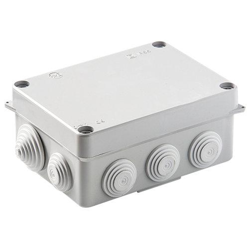 Caja de conexión estanca ip55 redonda 153x110 mm