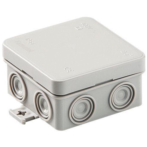 Caja de conexión estanca ip55 75x75x39 mm
