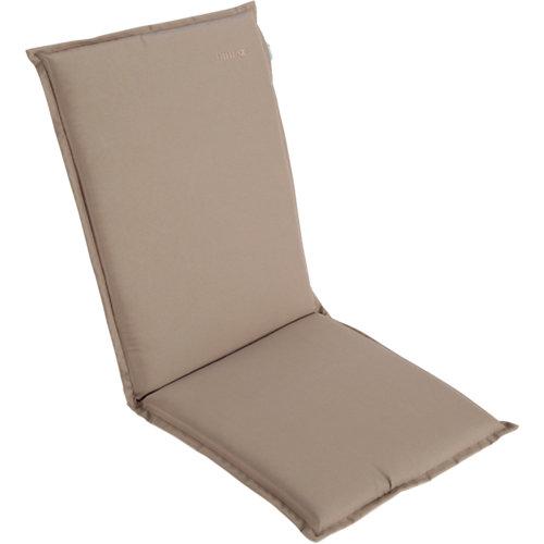 Cojín de exterior silla alta naterial bimax tostado