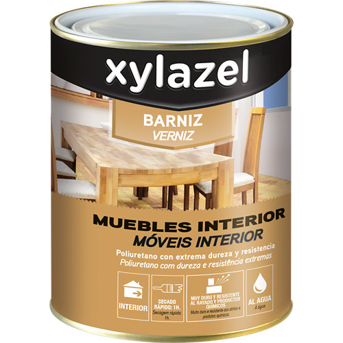 Barniz madera xylazel incoloro brillante 0,75l