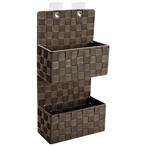 Cesta de baño / ducha marrón 22x11.5 cm