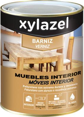 Barniz madera Xylazel incoloro satinado 0,75L