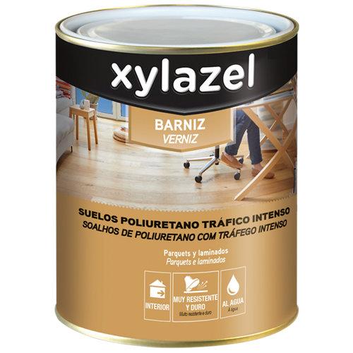 Barniz para suelos satinado br xylazel 0,75l inc