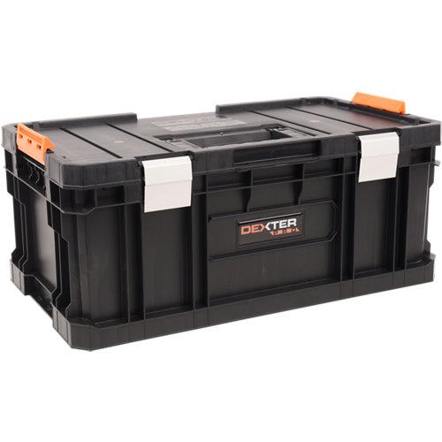 Caja de herramientas dexter pro con capacidad de 26 litros