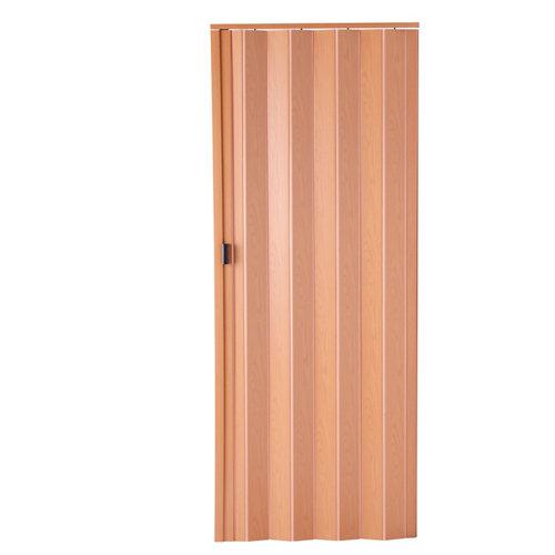 Puerta plegable de pvc roble 85 x 203 cm