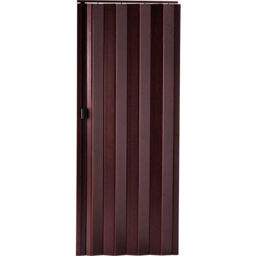 Puerta plegable de pvc sapelly 85 x 203 cm