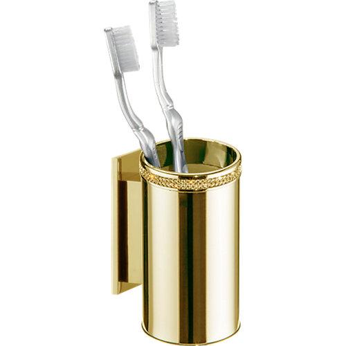 Potacepillos baño carmen amarillo / dorado